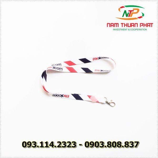 Dây đeo thẻ satin Maicom Vietnam 2