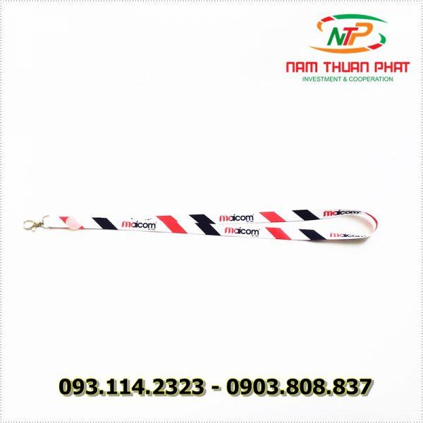 Dây đeo thẻ satin Maicom Vietnam 1