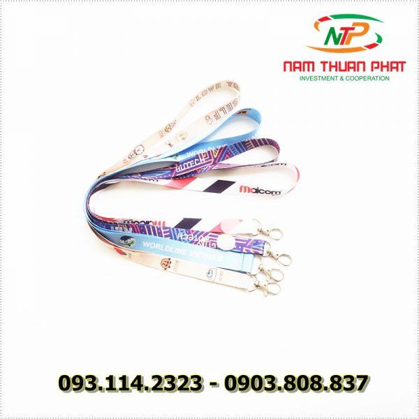 Dây đeo thẻ satin Maicom Vietnam 5