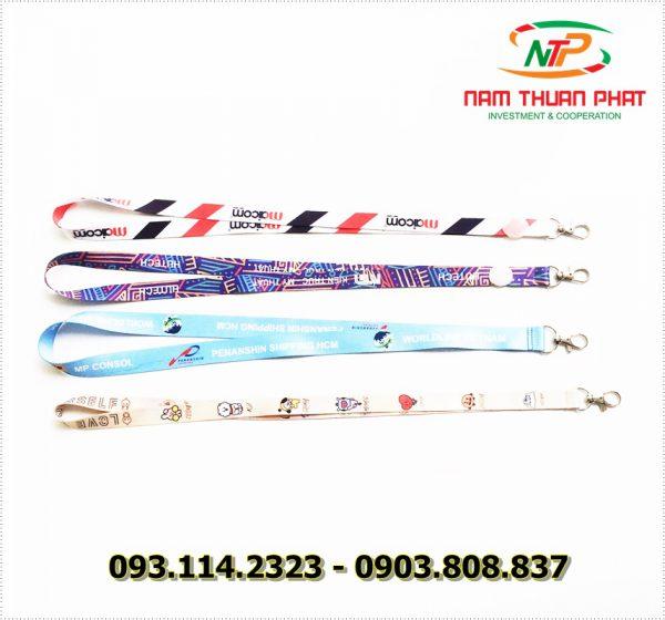 Dây đeo thẻ satin Maicom Vietnam 4