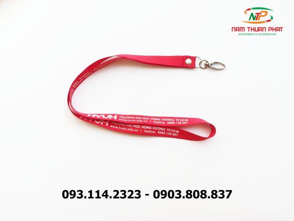 Dây đeo thẻ satin HVUH 3