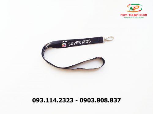 Dây đeo thẻ satin Super Kid 7