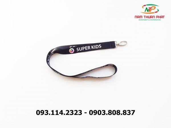 Dây đeo thẻ satin Super Kid 3