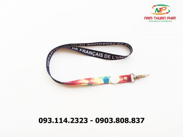 Dây đeo thẻ satin HCM Ville 2