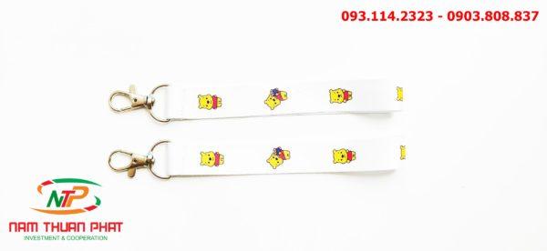 Dây đeo móc khóa Gấu Pooh v1 1