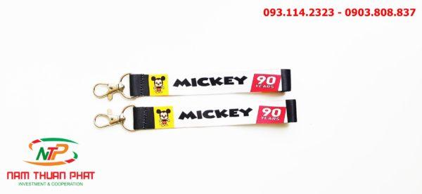 Dây đeo móc khóa Mickey v3 1