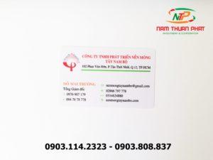 Thẻ nhân viên TD-019 7