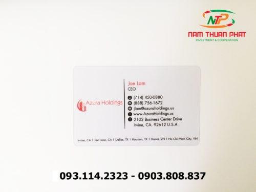 Thẻ nhân viên TD-017 1