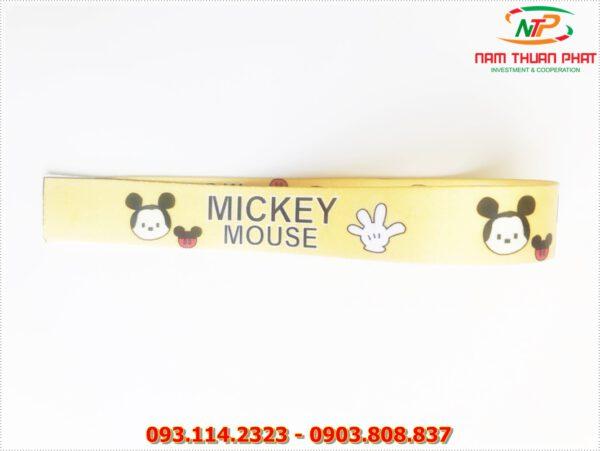 Dây đeo móc khóa Mickey mouse 3