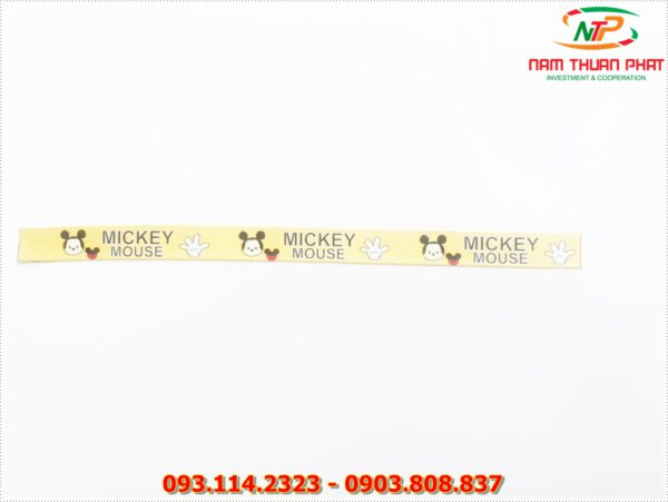 Dây đeo móc khóa Mickey mouse 2
