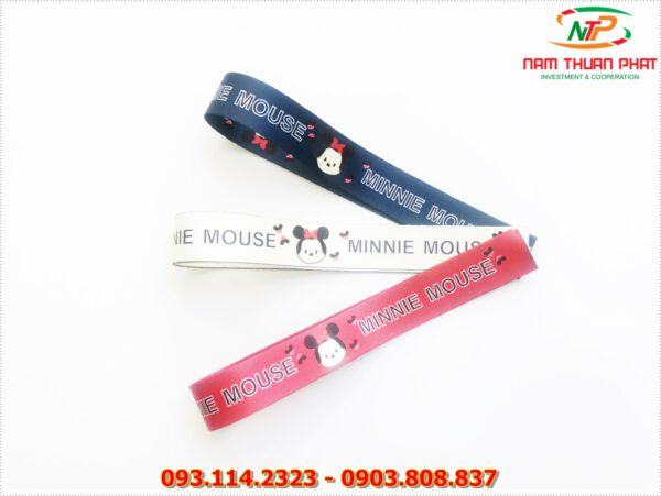 Dây đeo móc khóa Minnie mouse 1