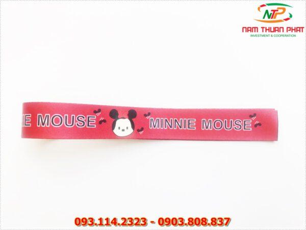 Dây đeo móc khóa Minnie mouse 5