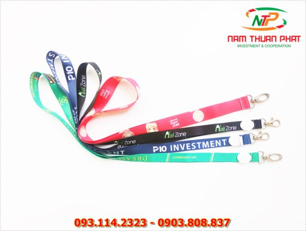 Dây đeo thẻ satin P10 Investment 4