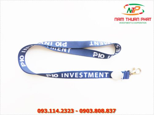 Dây đeo thẻ satin P10 Investment 9