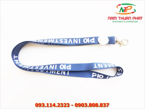 Dây đeo thẻ satin P10 Investment 8