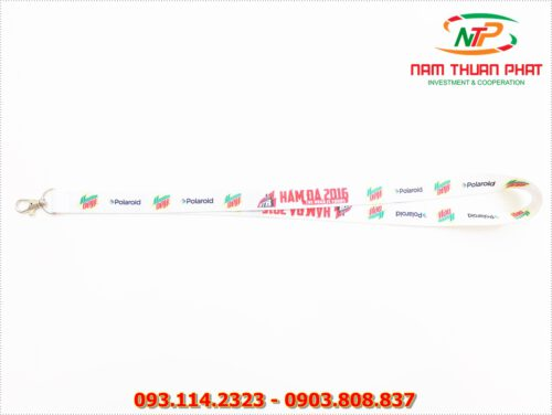 Dây đeo thẻ satin Moutain Dew 7