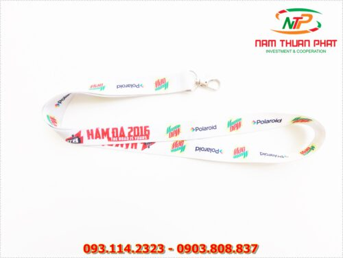 Dây đeo thẻ satin Moutain Dew 8