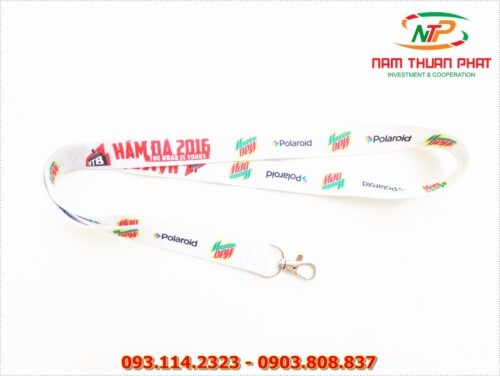 Dây đeo thẻ satin Moutain Dew 9