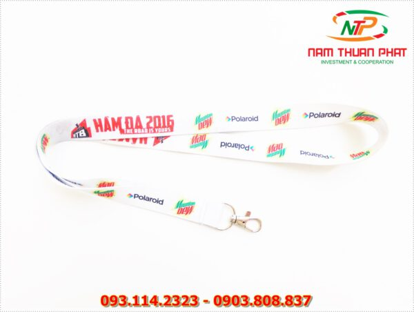 Dây đeo thẻ satin Moutain Dew 2