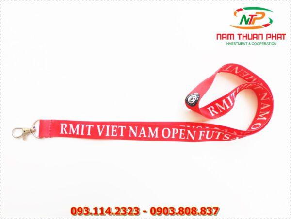 Dây đeo thẻ satin RMIT 2