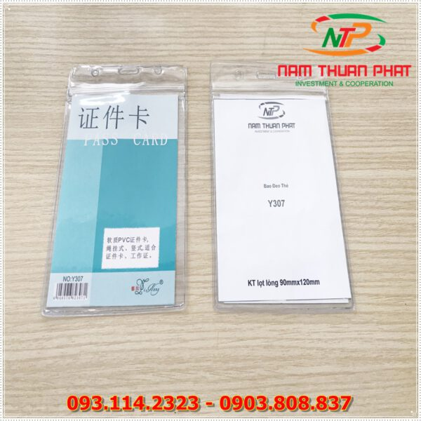 Bao đeo thẻ Y307 1