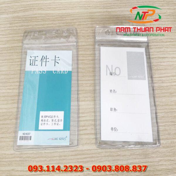 Bao đeo thẻ W207 6