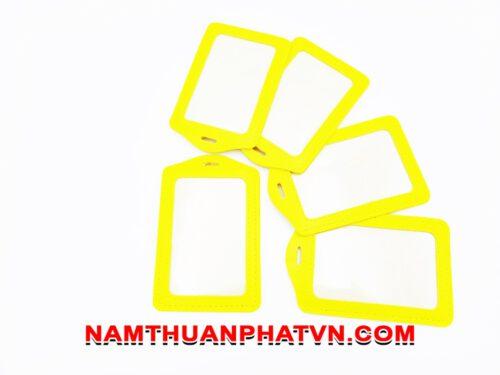 Bao da Simili màu vàng 8