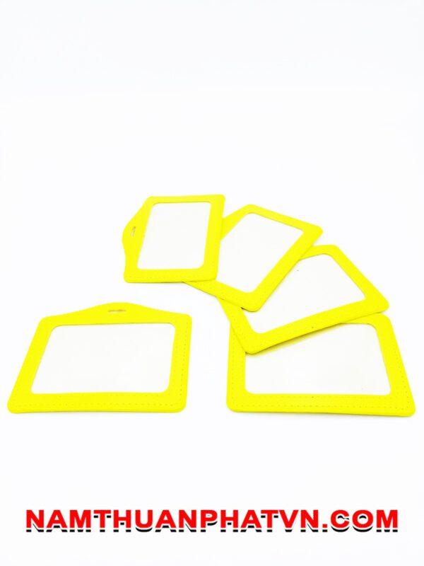 Bao da Simili màu vàng 4
