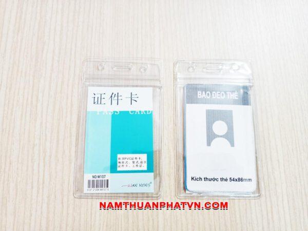 Bao đeo thẻ Zip W107 1