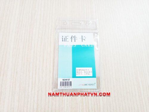 Bao đeo thẻ Zip W107 6