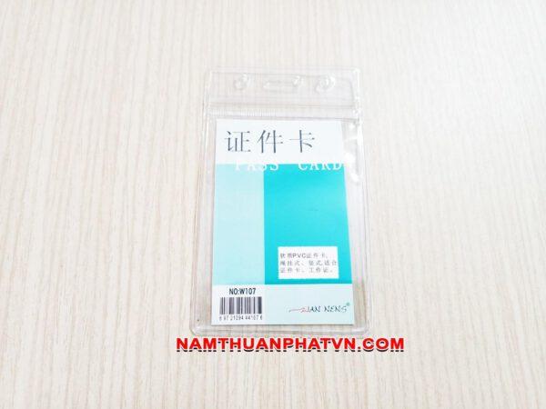 Bao đeo thẻ Zip W107 4