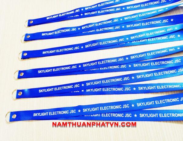 Dây đeo thẻ satin Skylight Electronic JSC 3