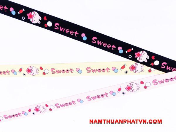 Dây đeo móc khóa Sweet v.2 8
