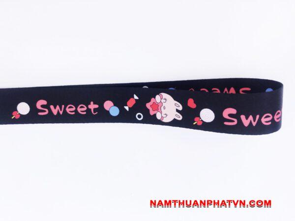 Dây đeo móc khóa Sweet v.2 4