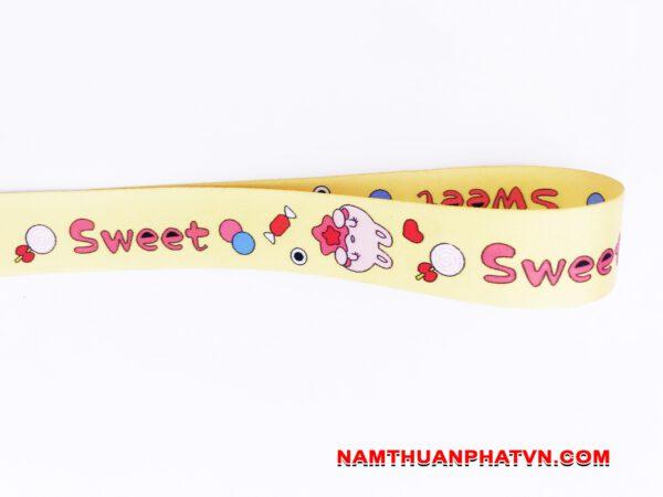 Dây đeo móc khóa Sweet v.2 2