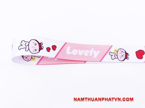 Dây đeo móc khóa Lovely v.2 8