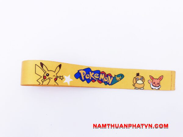 Dây đeo móc khóa Pokemon 2