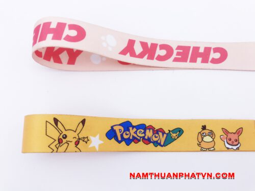 Dây đeo móc khóa Pokemon 8