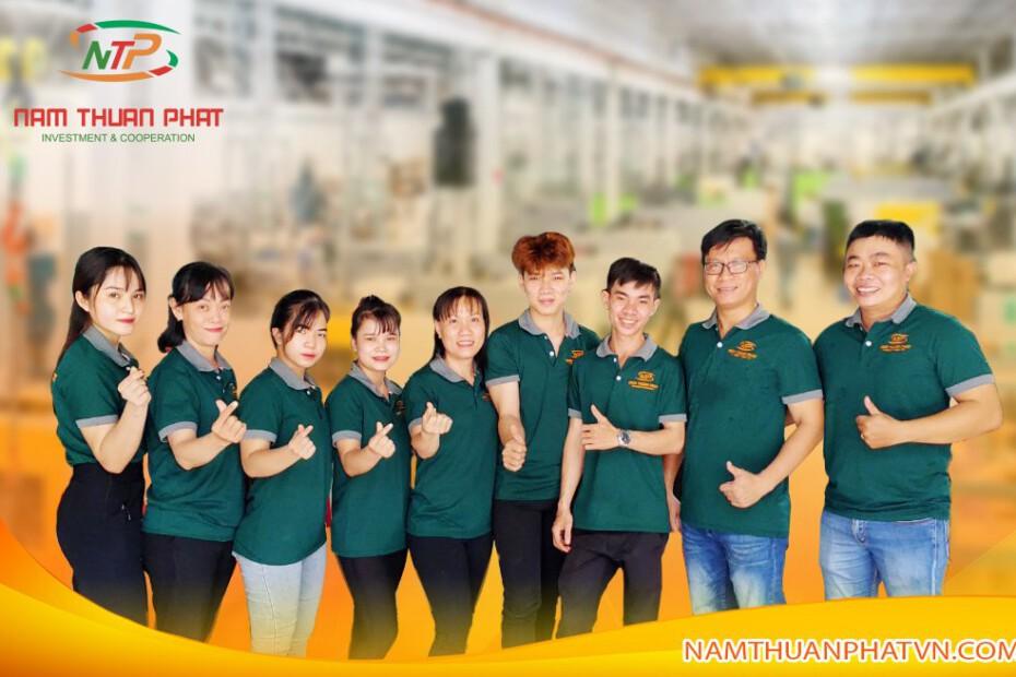 Quy Trình Đặt Hàng Nam Thuận Phát 1